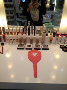 Options galore to try at the DLF Promenade Timelessbeauty makeup festival