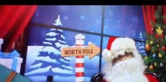 Santa at North Pole