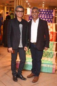 Himanshu Dogra of PlayClan with Mr. Bharat Shah of Ekaya