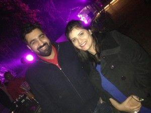 Priyank Sukhija with Anupriya Jolly Chugh