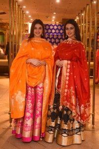 Models dressed in Nritya collection from PlayClan for Ekaya
