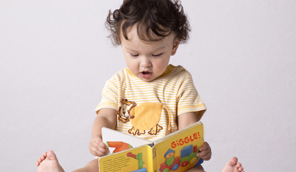 Reading in toddler