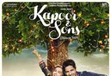 poster of Kapoor and Sons movie