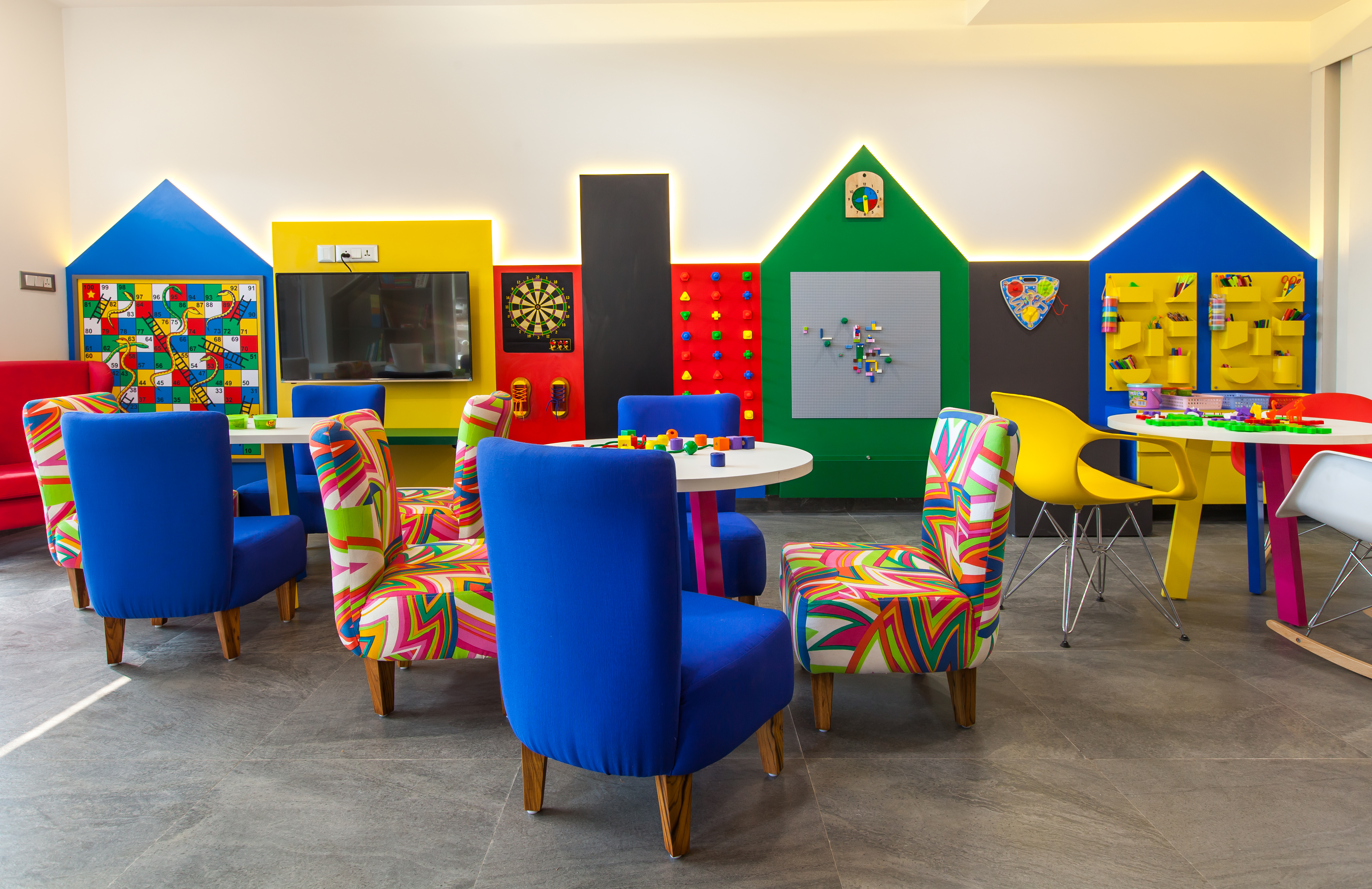 cool decor with funky furniture for kids at flick - all about women