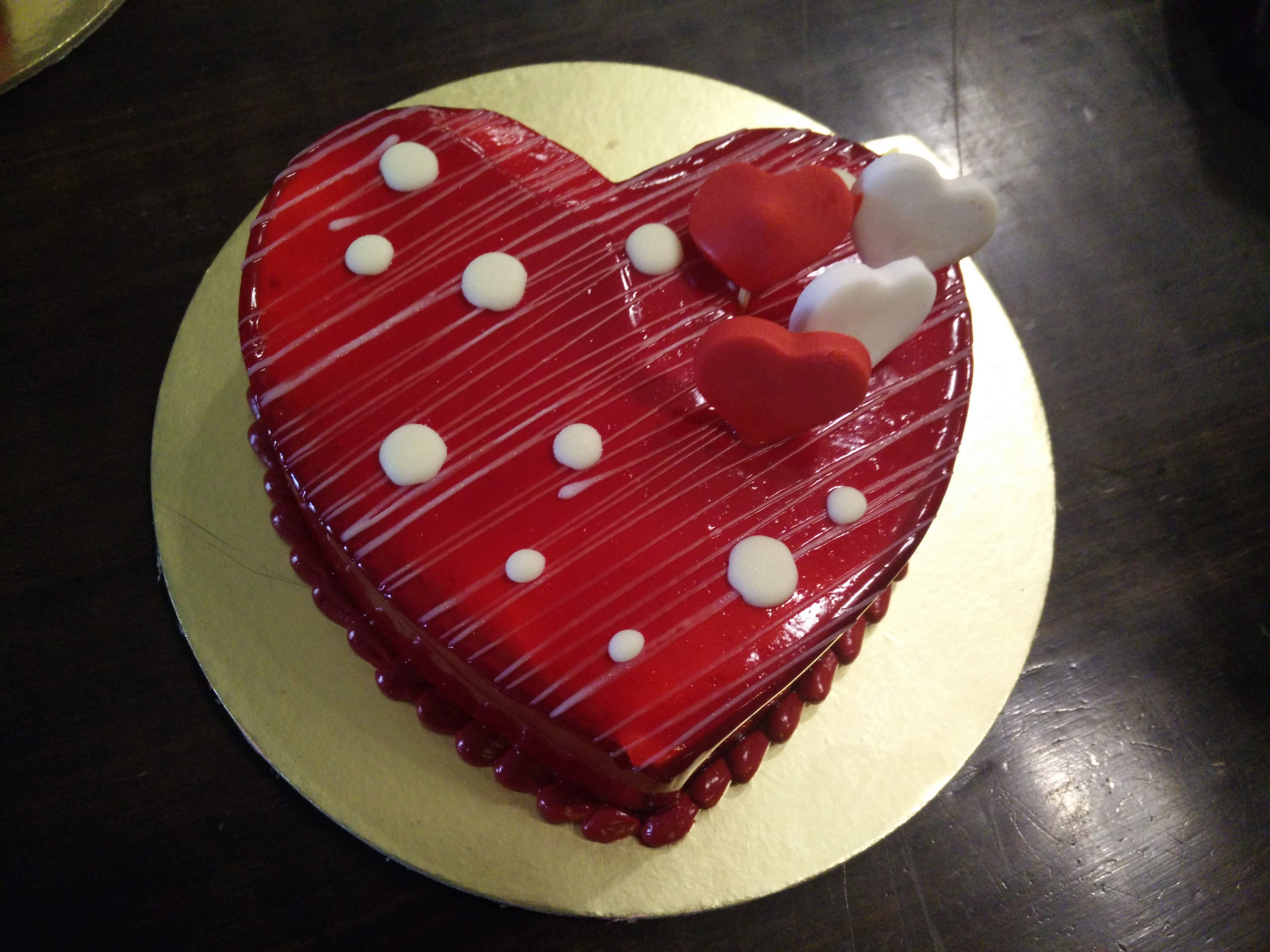 Valentines Day special cakes at El Posto All About Women