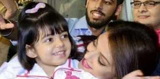 Aaradhya with Aishwarya Bachchan