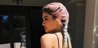 Kylie Jenner's new hair at Coachella