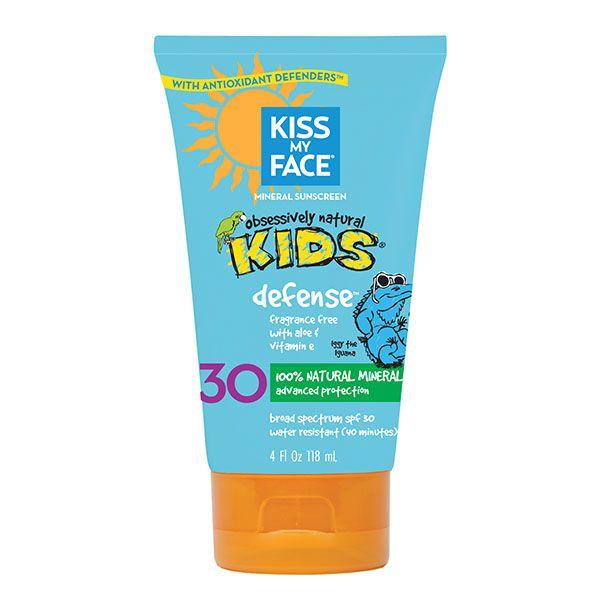 Sunscreen for kids