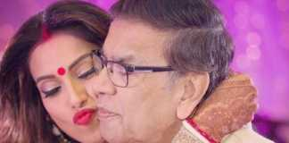Bipasha Basu with her dad
