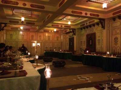 A/C dinning area