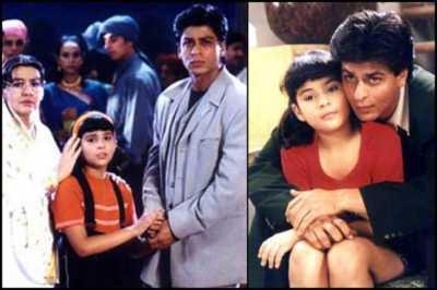 SRK in Kuch Kuch Hota Hai