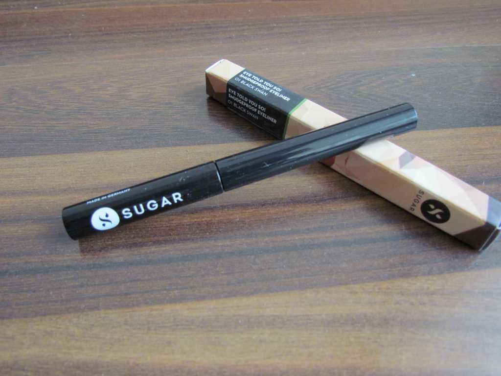 Sugar Eye told you so eyeliner in Black Swan