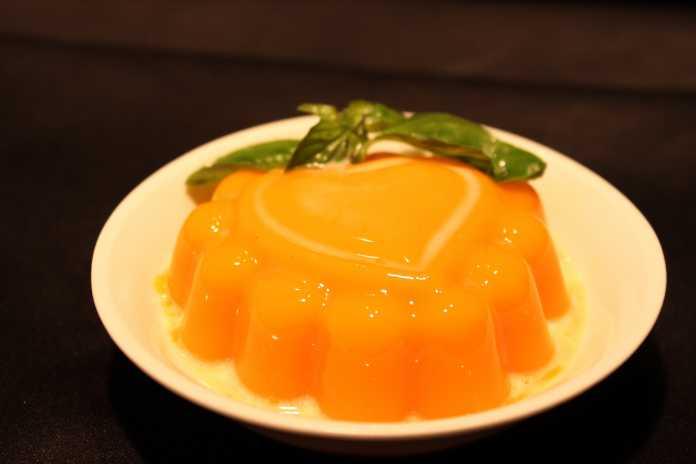 Chilled Mango Pudding by Royal China, Delhi