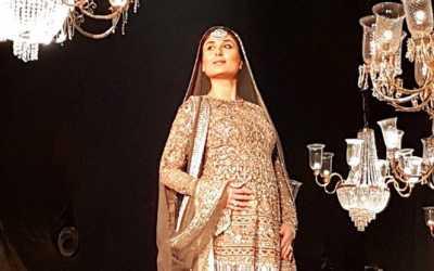 Kareena Kapoor Khan baby bump at LFW finale