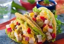 Tri-color Taco Recipe