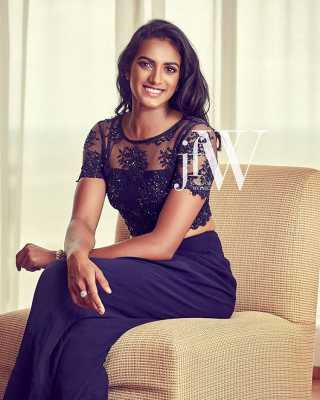 PV SIndhu with her killer smile