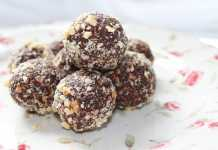 Banana Hazelnut Laddoos