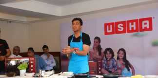 An afternoon with Chef Vikas Khanna and Usha