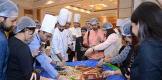 Cake Mixing at Park Plaza Noida