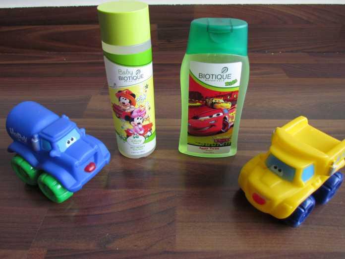 Biotique kids product range