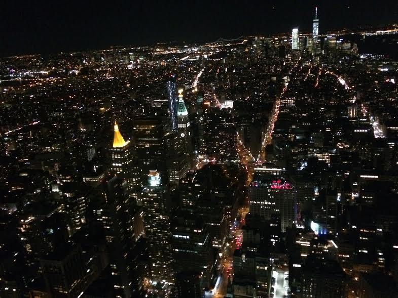 View from 86th floor of Empire State Building