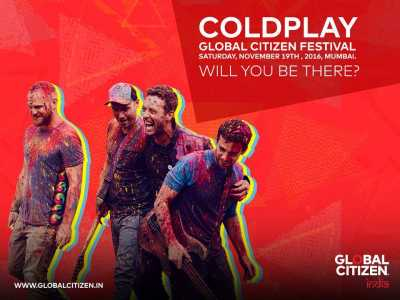 Coldplay comes to India
