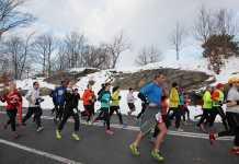 Train for a winter marathon