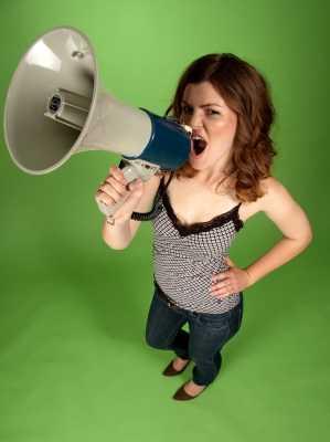 Do not be loud