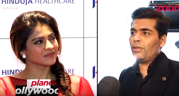 Kajol Karan Johar AVOID Facing Each Other