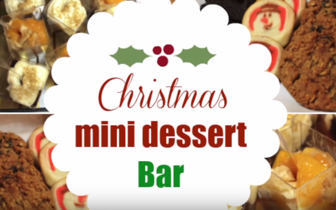 Mini Christmas Dessert Bar Ideas I Heart Recipes