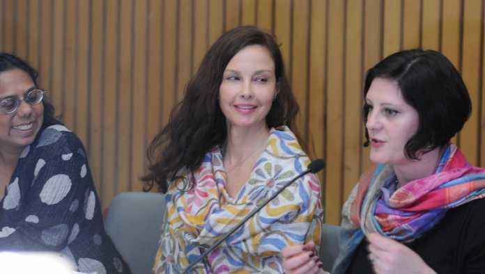 Ashley Judd, UNFPA Goodwill ambassador and US actor at Word Congress