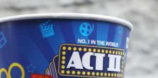 Act II popcorn tub
