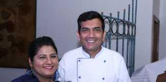 Selfie with Chef Sanjeev Kapoor