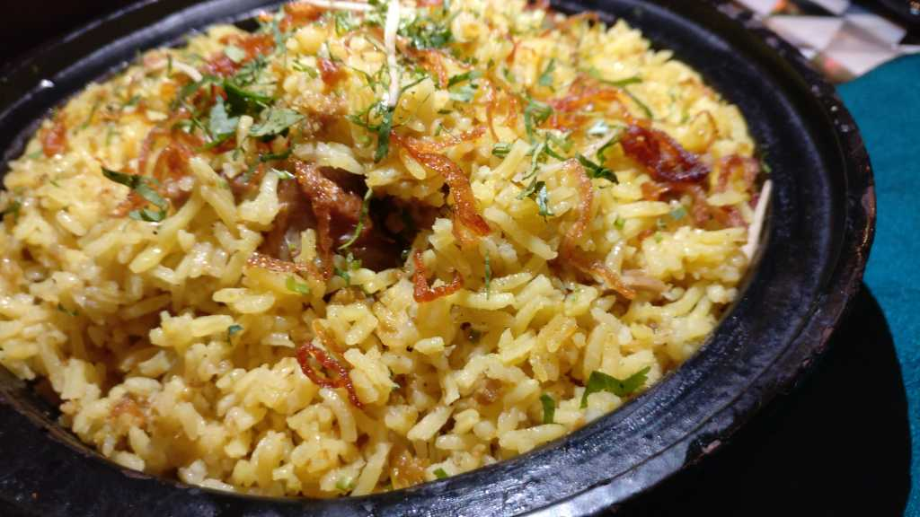Meat Pulao