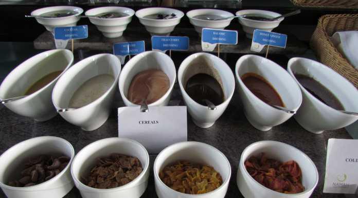 Great buffet options at Namah