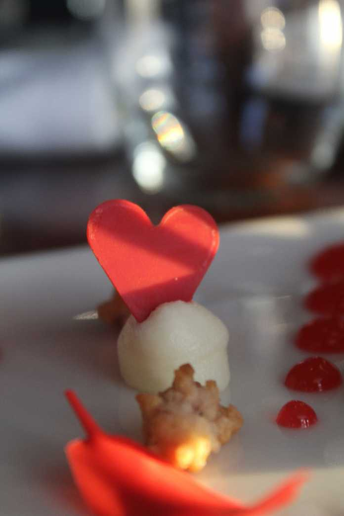 Strawberry and vanilla parfait