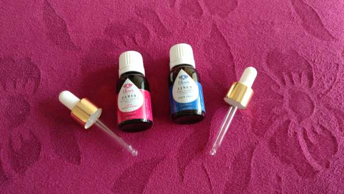Elixir Shop's Zaira & Linus oils