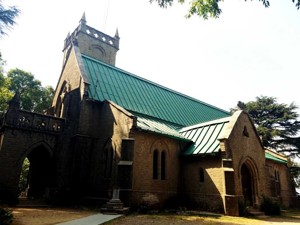 Kasauli church
