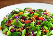 Fruits & Nuts Super Salad
