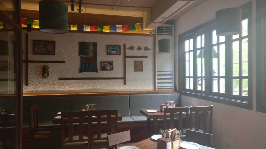 The sun lit interiors at Yeti HKV