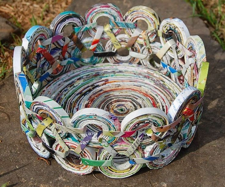 Reuse newspaper/pinterest