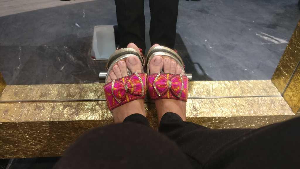 Happy feet at Sstylez salon