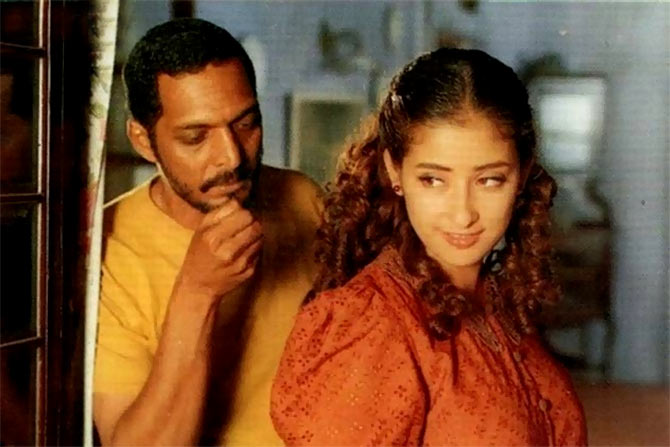 Manisha Koirala and Nana Patekar