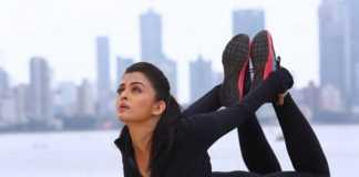 Aishwarya Rai Bachchan loves yoga
