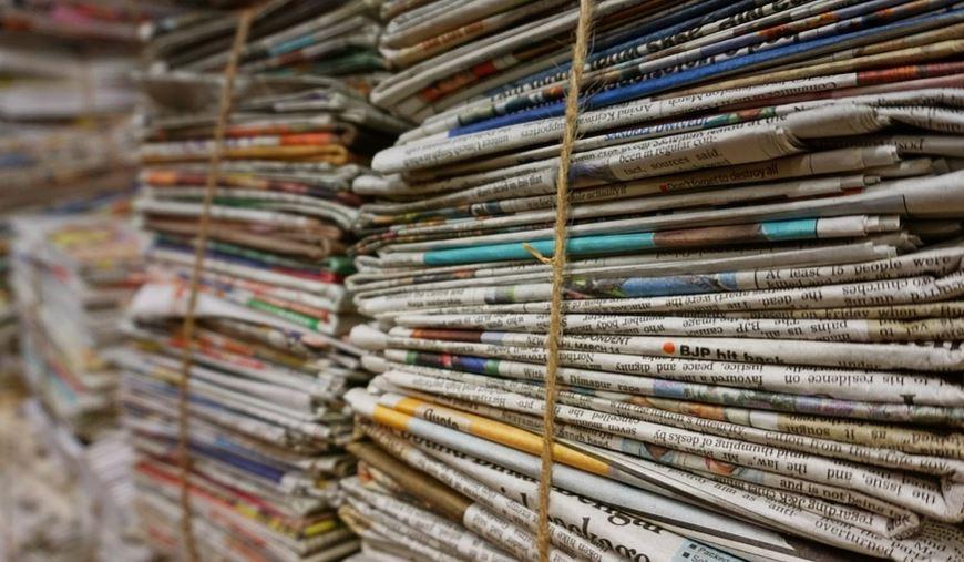 Newspaper/pixabay