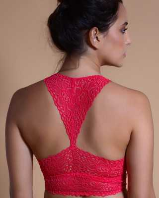 Stylish lace bralette