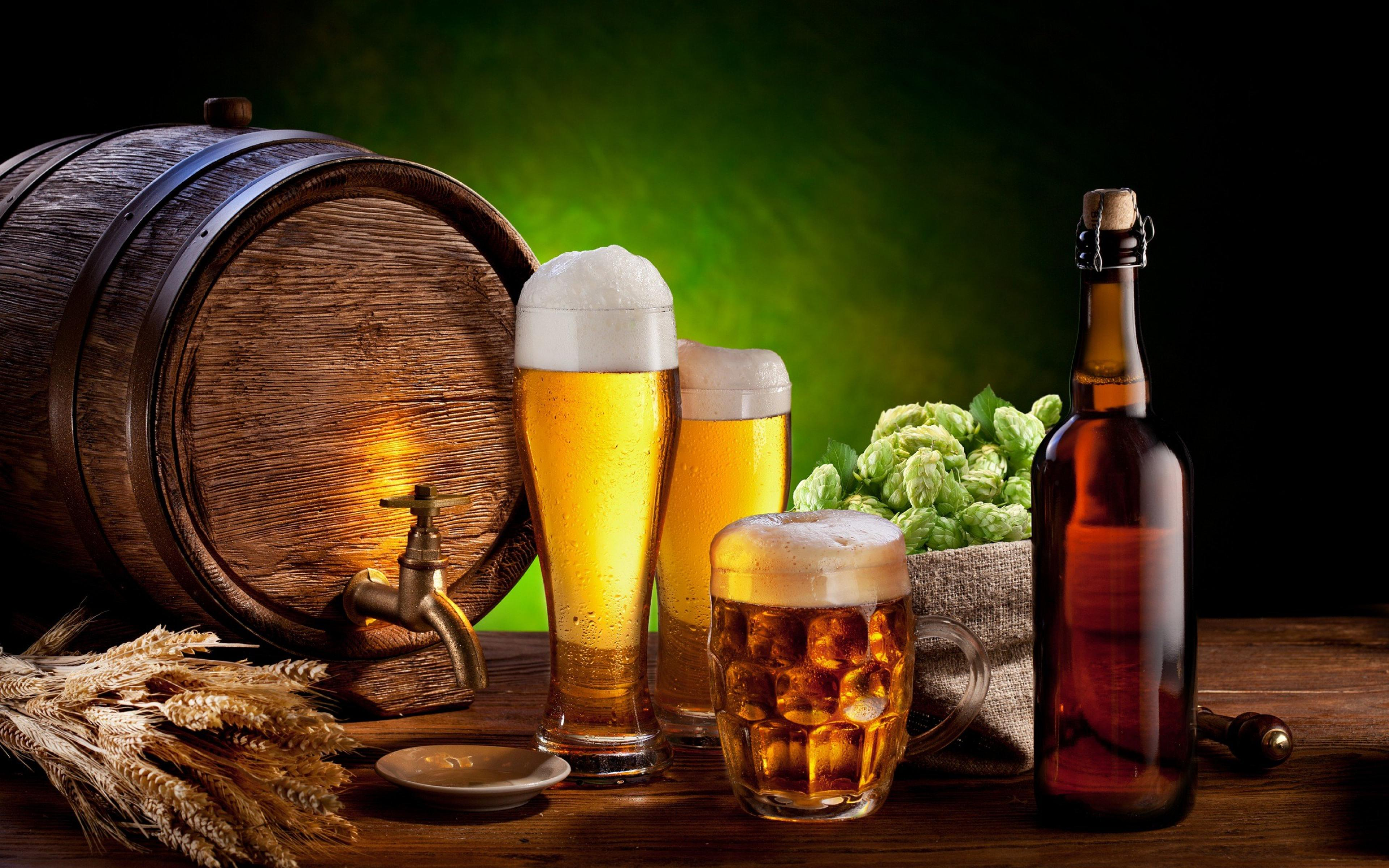 Beer treatment