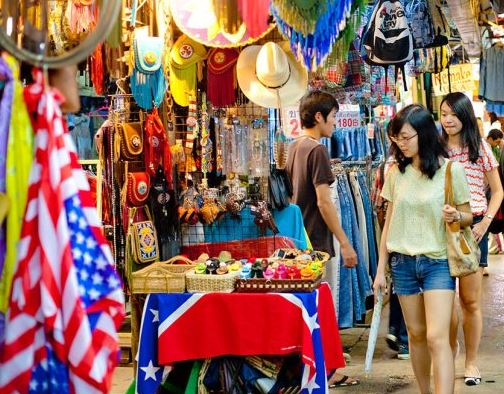 Shopping in Bangkok