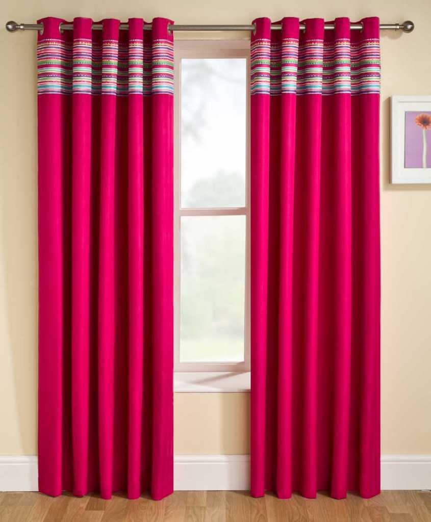 stylish bedroom curtains