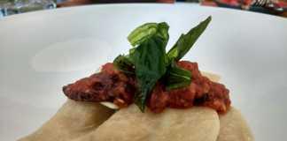 Ravioli in the all new menu at Prego